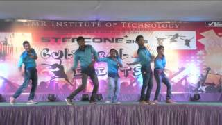 excellent dance performance for old remix songs by gmrit rock dancers