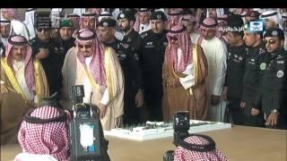 وصول خادم الحرمين لمقر حفل جائزة الملك عبدالعزيز للإبل