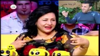 رعونية والتصرفات الا محسوبه من الممثله العراقية انعام الربيعي