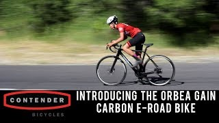 Introducing the 2019 Orbea Gain Carbon E-Road Bike