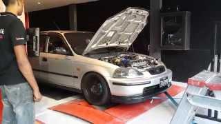 Test sur Honda par Dyno Garage