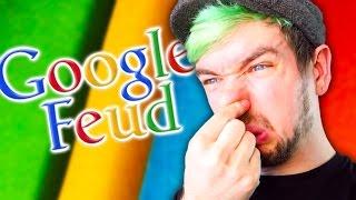 MY FEET SMELL LIKE CHEESE | Google Feud #4