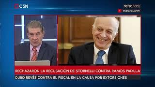 Rechazaron La Recusación Del Fiscal Stornelli Contra El Juez Alejo Ramos Padilla