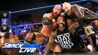 SAnitY wreak havoc on The Usos in their debut: SmackDown LIVE, June 19, 2018