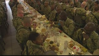 Thanksgiving at Fort Jackson