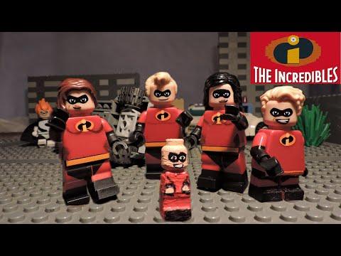 LEGO Disney PIXAR - INCREDIBLES custom minifigures!