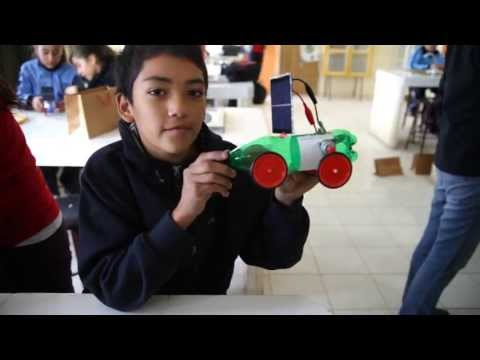 Taller Solar en Escuela D-133 Arturo Pérez Canto, María Elena, Antofagasta