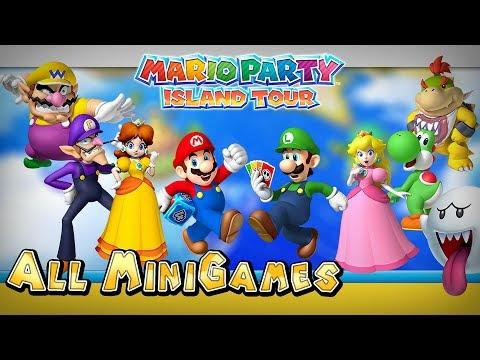 Mario Party Island Tour All Mini Games