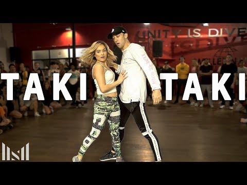 TAKI TAKI - DJ Snake, Cardi B, Ozuna & Selena Gomez Dance | Matt Steffanina & Chachi
