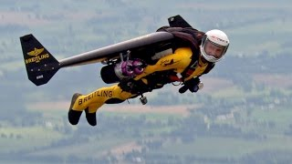 Flying with Jetman