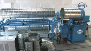 Spiro® - Tubeformer 2020 / 3600H  / Spiral duct machines / Spiral machines (short movie)