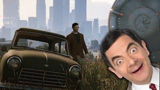 L'auto di Mr. Bean e l'ufo gigante - GTA Online ITA