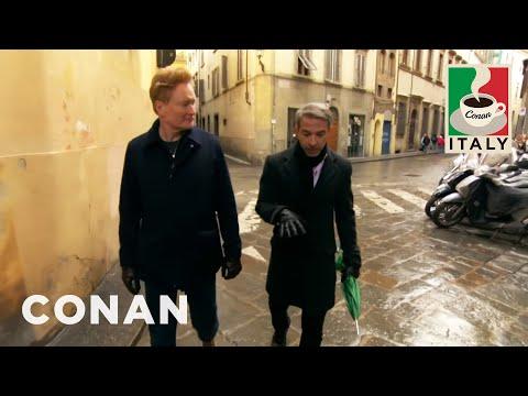 Jordan Schlansky s Long Winded Tour Of Italy CONAN on TBS