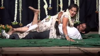 Telugu Andhra Sexy Roamantice Stage Hottest Sexy Midnifht Dance