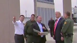 President Trump inspects border wall prototypes