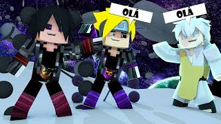 Minecraft: BORUTO #1 - NOVA TEMPORADA! O NOVO AMIGO DO BORUTO E SASUKE