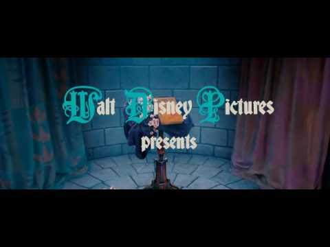 Disney s Enchanted movie intro first 58 seconds