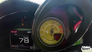 Ferrari 812Superfast launch control : 0-200 km/h