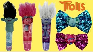 TROLLS Cosmetic, Makeup, Hair Accessory, Lip Gloss Balm Nail Polish Branch, Poppy Guy Diamond / TUYC