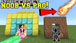 Minecraft: NOOB VS PRO!!! - NATURAL DISASTER SURVIVAL! - Mini-Game