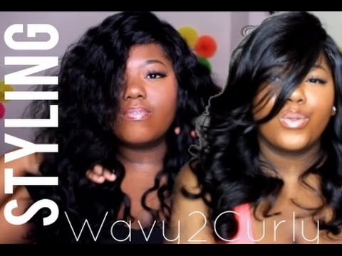 WAVY Hair to BODY Curls! Styling My Malaysian Wavy Hair ft. Virgin Hair Fixx