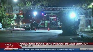 Cedar Park SWAT situation ends with man in custody