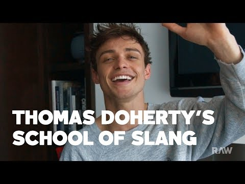 Xxx Mp4 Thomas Doherty S Scottish Slang School Is Now In Session RAW 3gp Sex