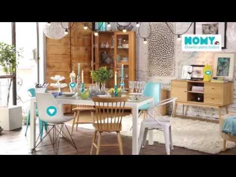 Inspiración e ideas Homy: Comedor… listos para la cena!
