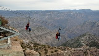 ZipRider Copper Canyon, Mexico | Exhilarating ride on longest zip line in the world
