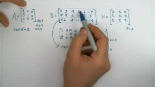 Find the rank of a matrix quick and easy - Linear Algebra Explained Right