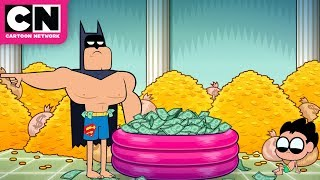 Teen Titans GO!   A Trip to Wayne Manor   Cartoon Network