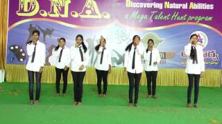 DNA- Telugu Expressionless Song - Apoorva college