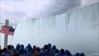 Maid of the Mist boat ride, Niagara Falls, New York