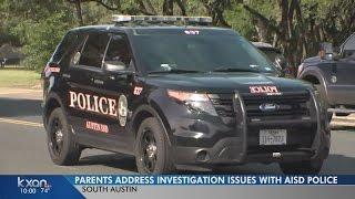 Boone Elementary parents meet with AISD regarding sex assault allegation