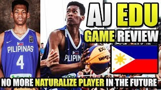 AJ Edu Game Review | 17 Year Old Gilas Prospect | Dunks, Handles, ETC. ᴴᴰ