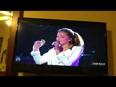 The Voice- Top 11-   Brynn   Cartelli-  Performance -  You and  I. - By  Lady Gaga....