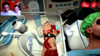 Surgeon Simulator ||| Due Bravi Dentisti All'Opera Sul Povero Bob :'D