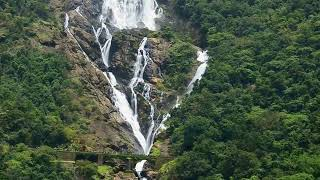 Dudhsagar Water Falls Goa India