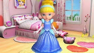Fun Baby Girl Care Ava the 3D Doll Kids Game Bath Dress Up Feed Learn Colors Dance Gameplay