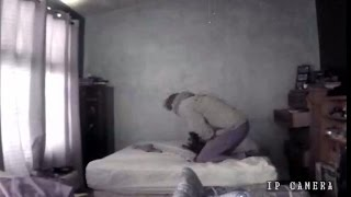 Nanny cam catches guest abusing family cat