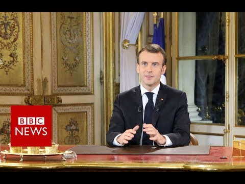 Xxx Mp4 Macron 39 I Am Partly Responsible 39 For Unrest BBC News 3gp Sex