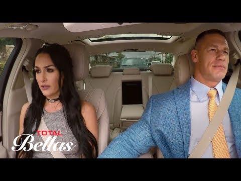 Nikki Bella s uncomfortable conversation with John Cena Total Bellas Preview Clip Sept. 27 2017
