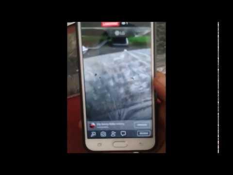 cara siarang langsung di facebook sambil vidio call .. - versi kalak karo.