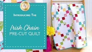 How to Make an Irish Chain Pre-Cut Quilt Block | a Shabby Fabrics Quilting Tutorial