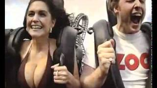 The physics of gravity... Lets do some research! (Boobs in rollercoaster)