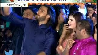 Ghatkopar | Ranveer Singh With Ram Kadam In Dahi Handi