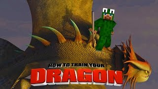 Minecraft - HOW TO TRAIN YOUR DRAGON 2 - [5]