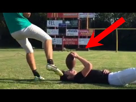 PEOPLE ARE AWESOME American Sports Edition Football & Basketball Trick Shots