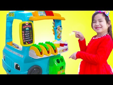 Xxx Mp4 Jannie Pretend Play With Fun Food Truck Toy 3gp Sex