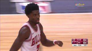Quarter 3 One Box Video :Bulls Vs. Raptors, 10/12/2017